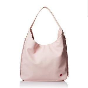 Dear drew boho pebbled pink bag